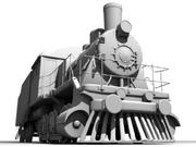 Trein 3d model