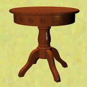 FR-tafel met schelpen 3d model