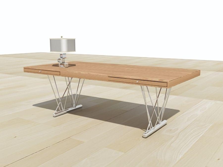 escritorio moderno royalty-free modelo 3d - Preview no. 1