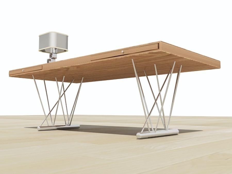 escritorio moderno royalty-free modelo 3d - Preview no. 2