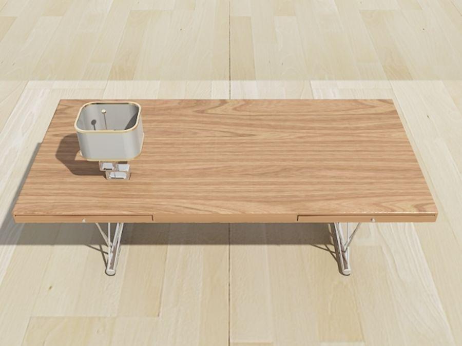 escritorio moderno royalty-free modelo 3d - Preview no. 3