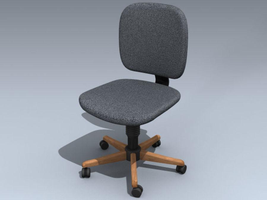 modèle 3d chaise de bureau