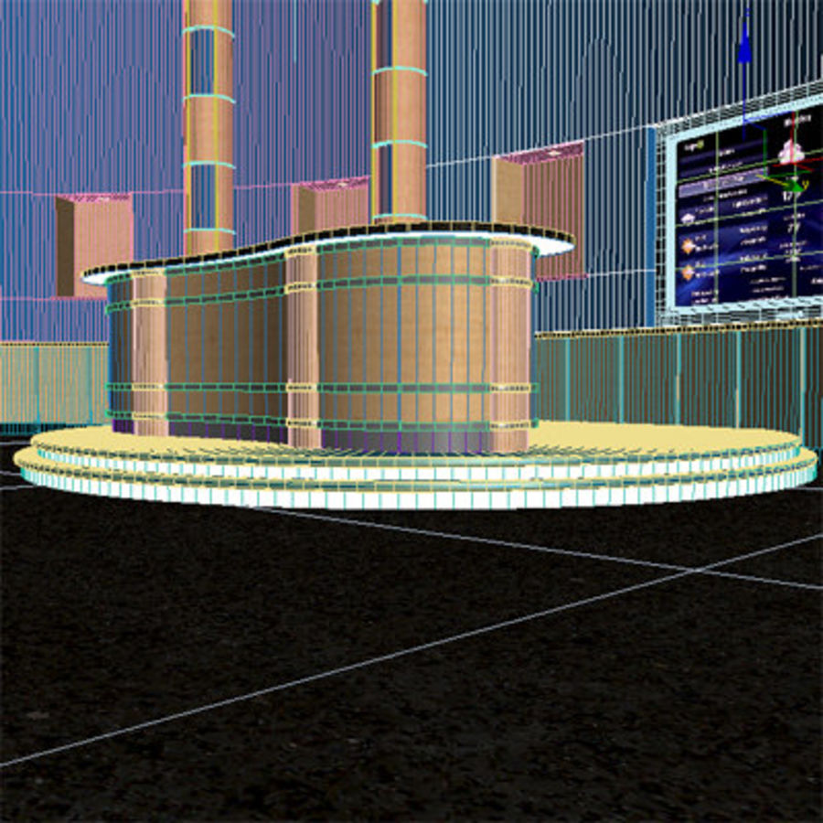 Virtual Stage royalty-free 3d model - Preview no. 9