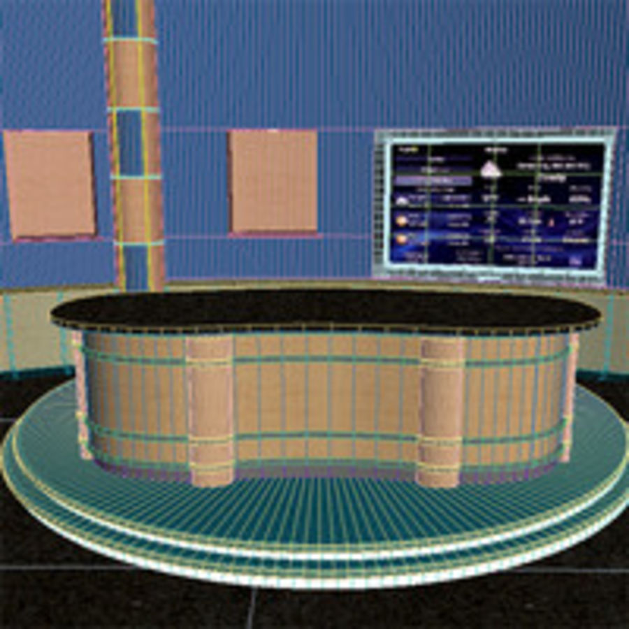 Virtual Stage.zip royalty-free 3d model - Preview no. 8