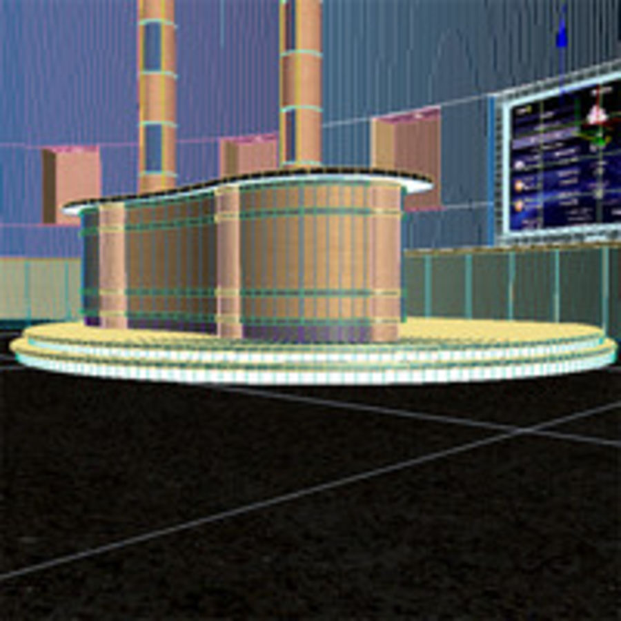 Virtual Stage.zip royalty-free 3d model - Preview no. 9