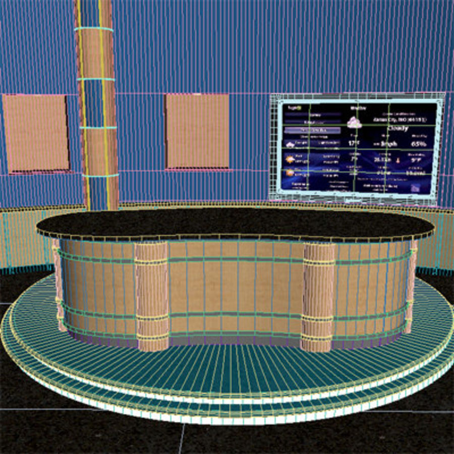 Virtual Stage royalty-free 3d model - Preview no. 8