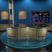 Виртуальная сцена 3d model