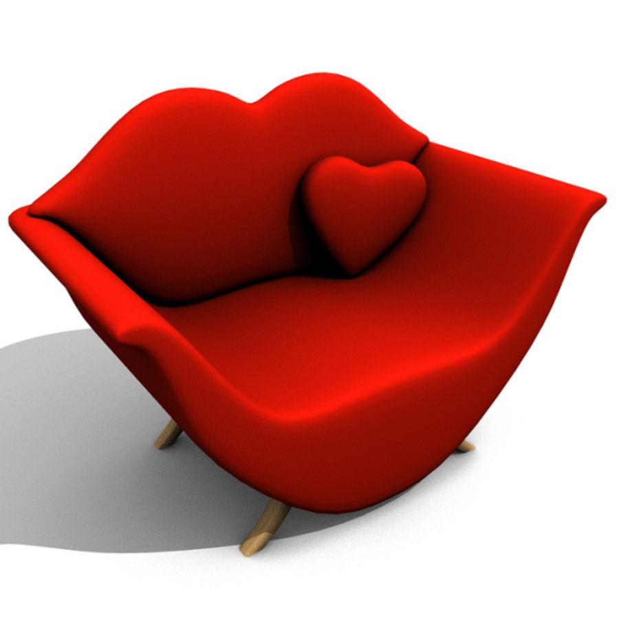 Assento de amor royalty-free 3d model - Preview no. 1