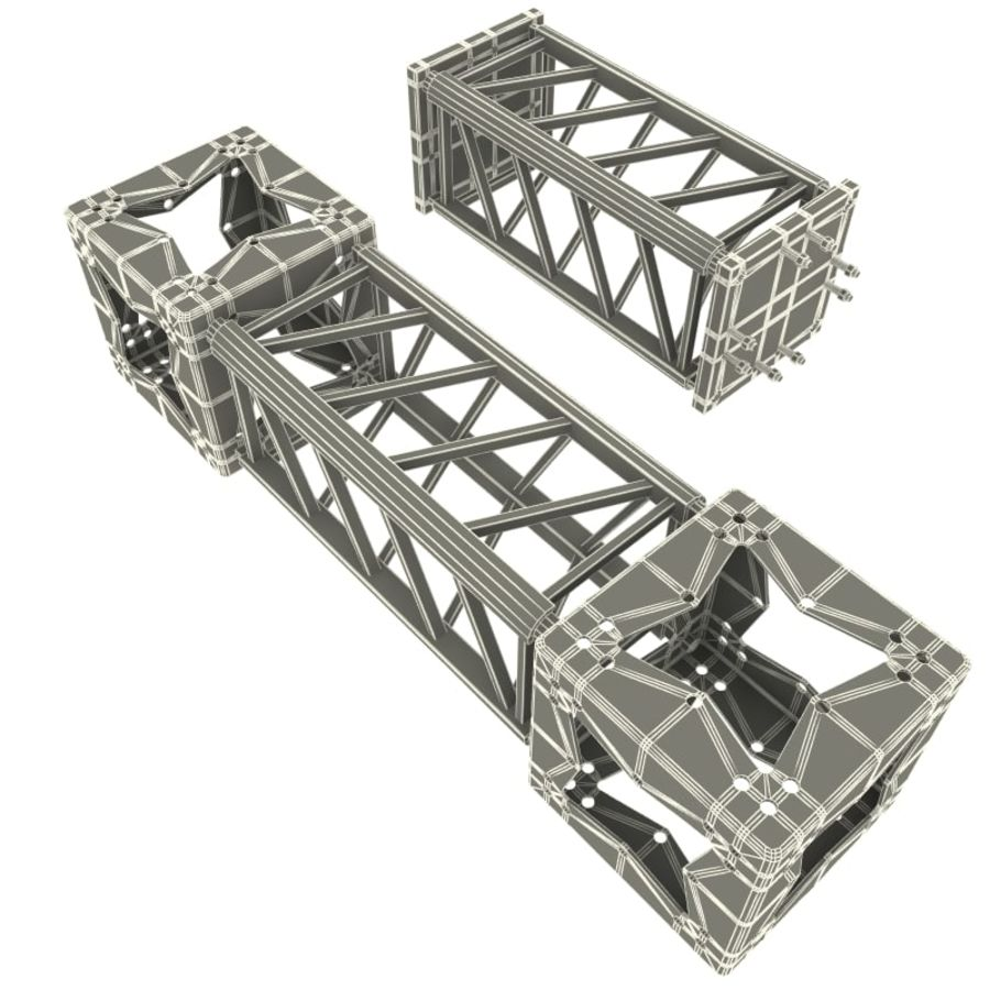 Steel Truss collection royalty-free 3d model - Preview no. 13