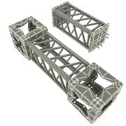 Steel Truss collection 3d model