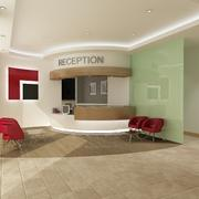 Interior Reception Scene 3d model