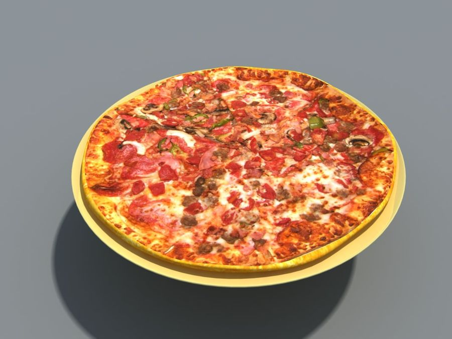 Colección de alimentos royalty-free modelo 3d - Preview no. 4