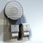 Toilet Paper Holders 01 3d model