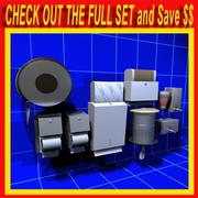 Soap Dispensers 01 3d model