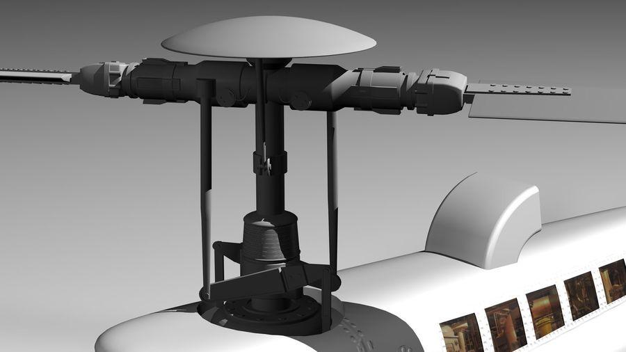 JetRanger III.rar royalty-free 3d model - Preview no. 5