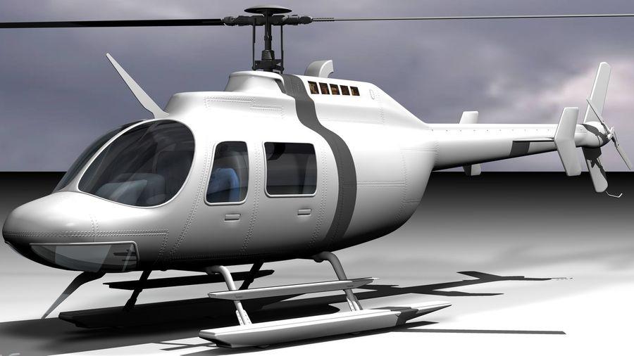 JetRanger III.rar royalty-free 3d model - Preview no. 4