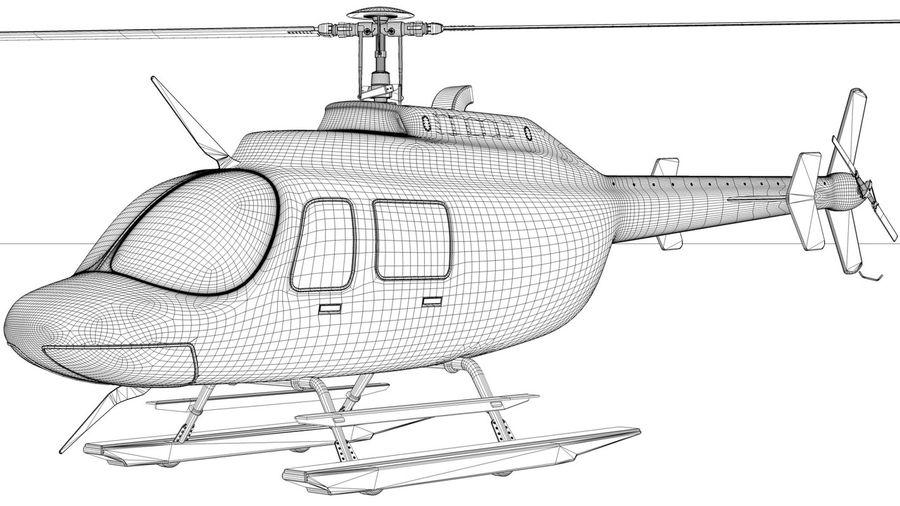 JetRanger III.rar royalty-free 3d model - Preview no. 3