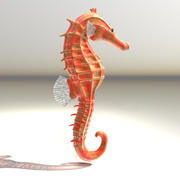 SeahorseTransparent.obj.zip 3d model