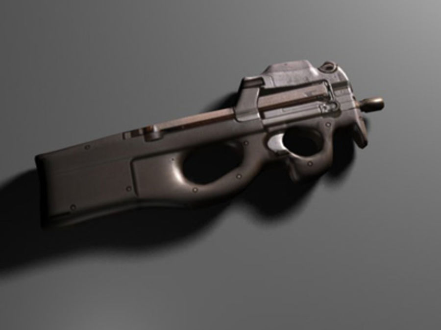 weapons pack royalty-free 3d model - Preview no. 24