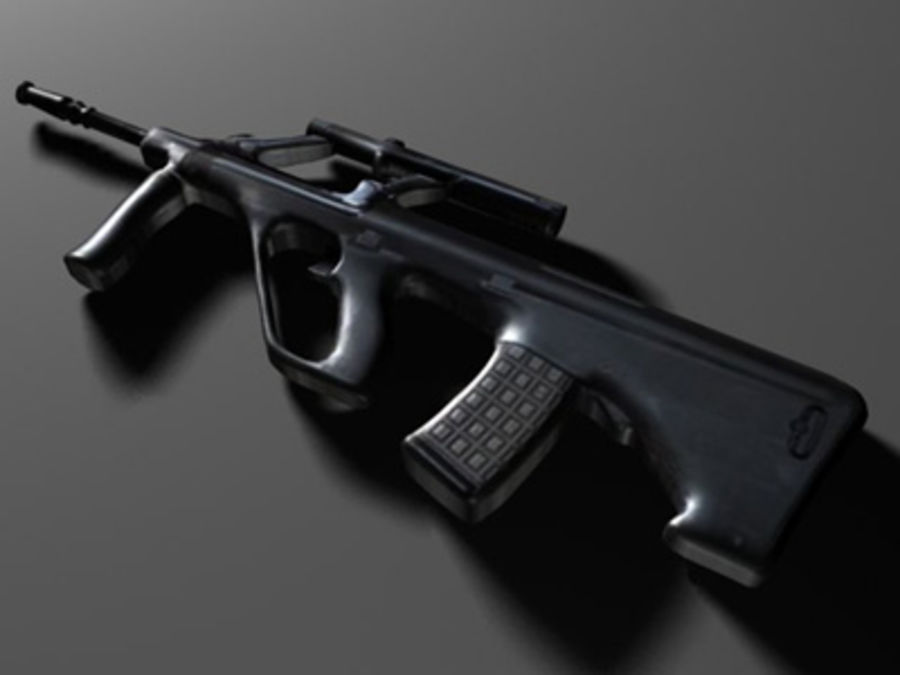 weapons pack royalty-free 3d model - Preview no. 33
