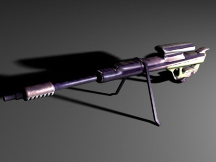 weapons pack royalty-free 3d model - Preview no. 34