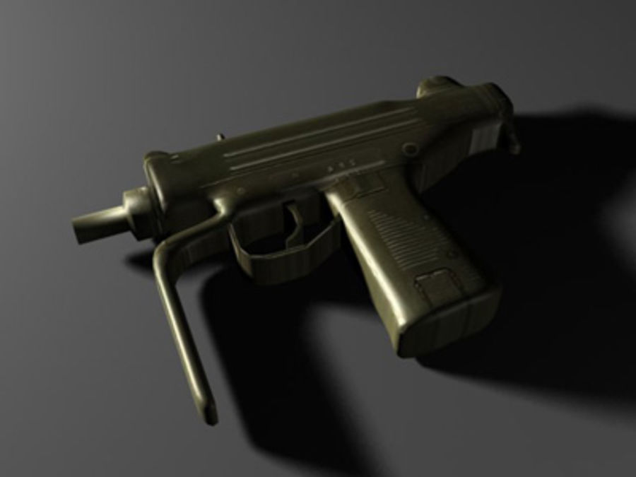 weapons pack royalty-free 3d model - Preview no. 27