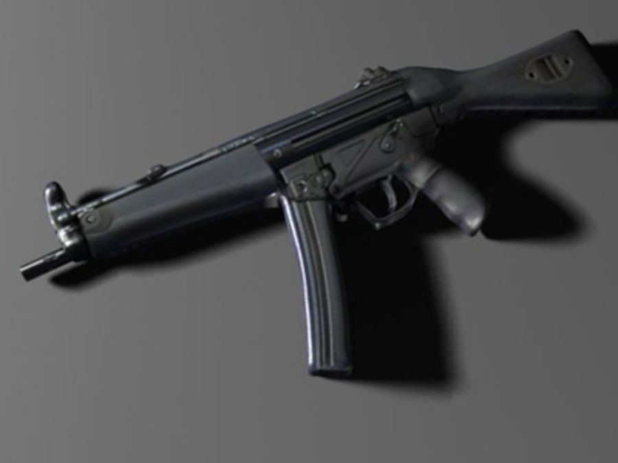 weapons pack royalty-free 3d model - Preview no. 29