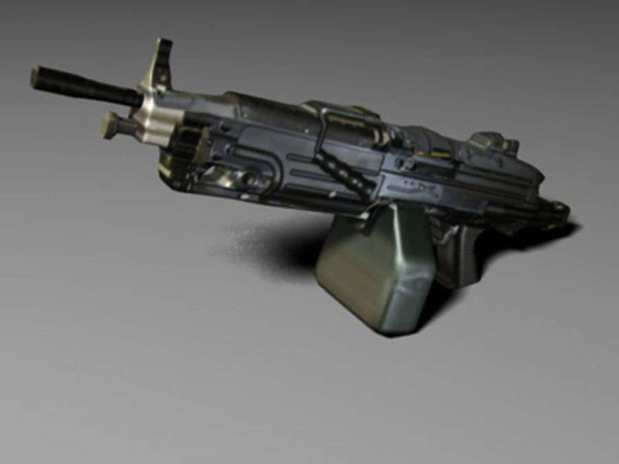 weapons pack royalty-free 3d model - Preview no. 15