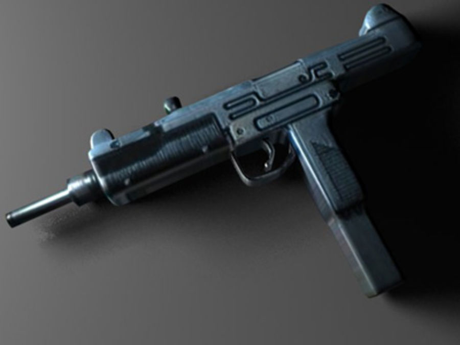 weapons pack royalty-free 3d model - Preview no. 36