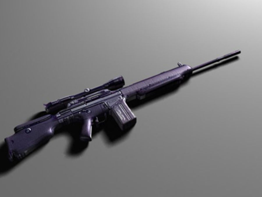 weapons pack royalty-free 3d model - Preview no. 30
