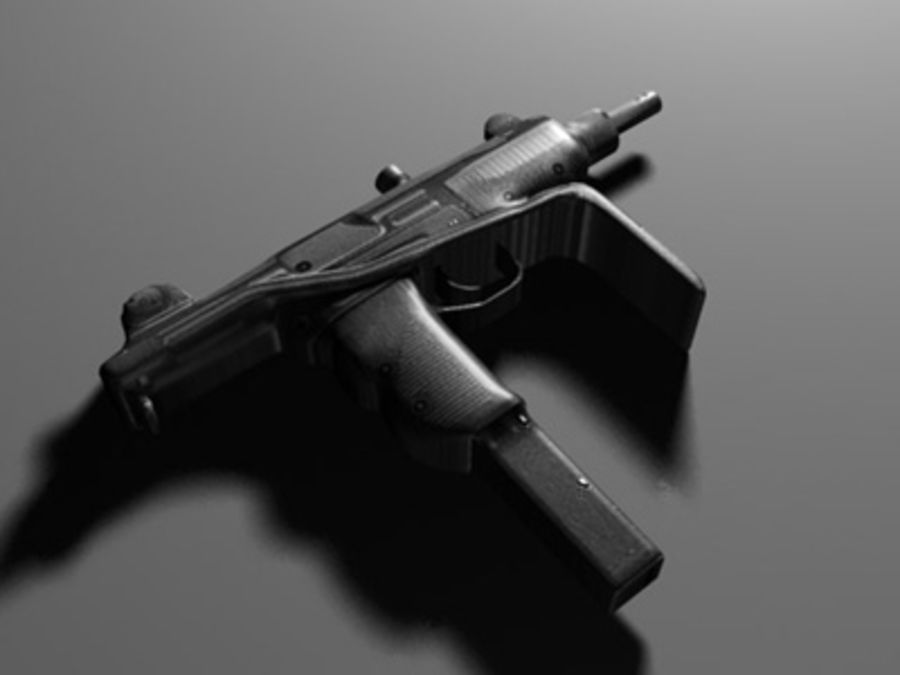 weapons pack royalty-free 3d model - Preview no. 28