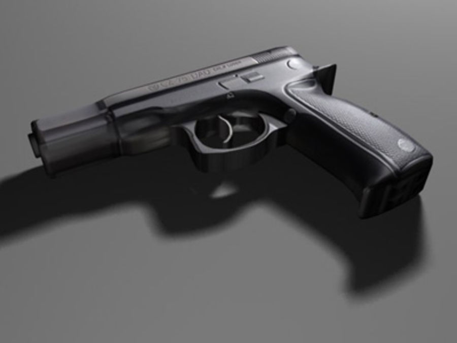 weapons pack royalty-free 3d model - Preview no. 8