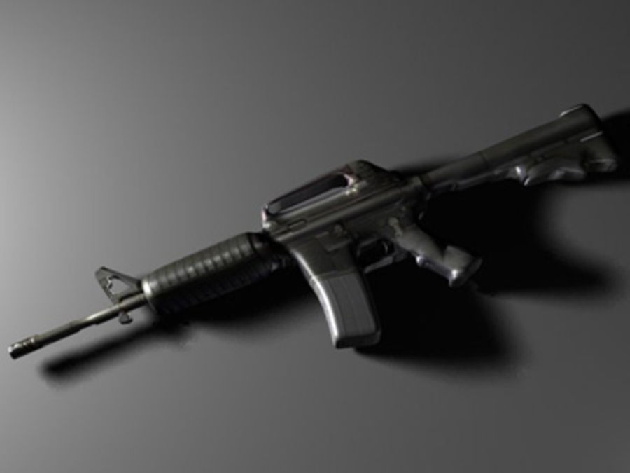 weapons pack royalty-free 3d model - Preview no. 20