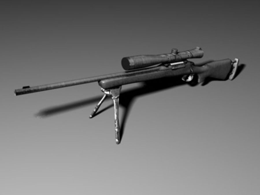 weapons pack royalty-free 3d model - Preview no. 21