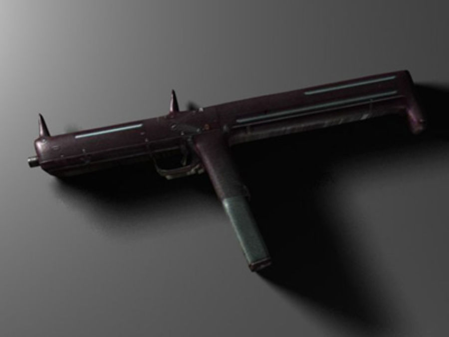 weapons pack royalty-free 3d model - Preview no. 25
