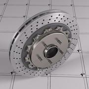 Тормозной диск 3d model