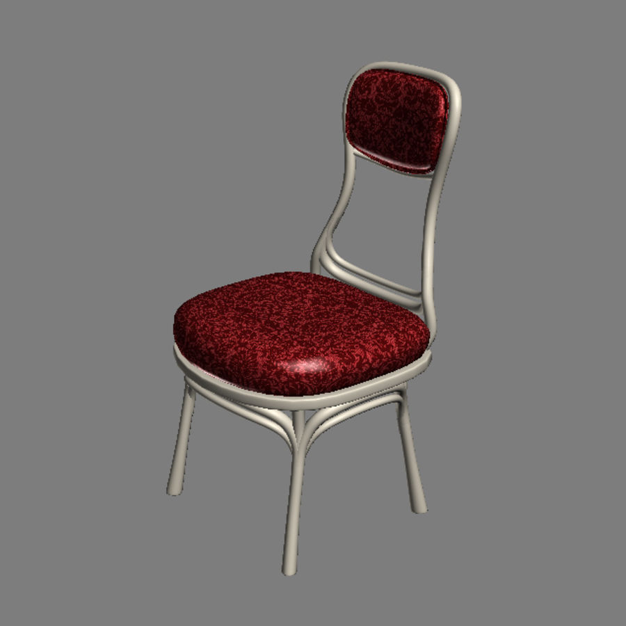 Chair 001 royalty-free 3d model - Preview no. 4