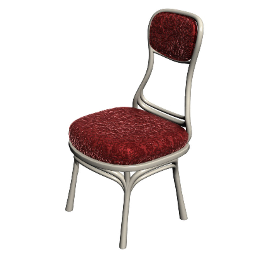 Chair 001 royalty-free 3d model - Preview no. 2