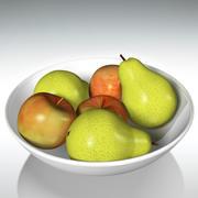 Apple & Pear 3d model