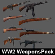 WW2WeaponsPack 3d model