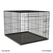 Dog Cage 001 3d model