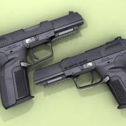 FN FiveseveN 3d model