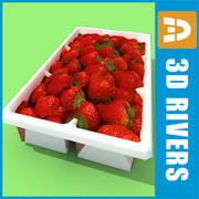 Земляничная коробка от 3DRivers 3d model