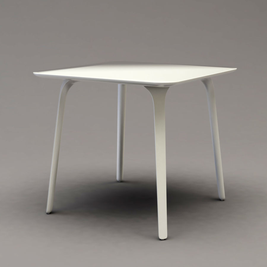 First table royalty-free 3d model - Preview no. 4
