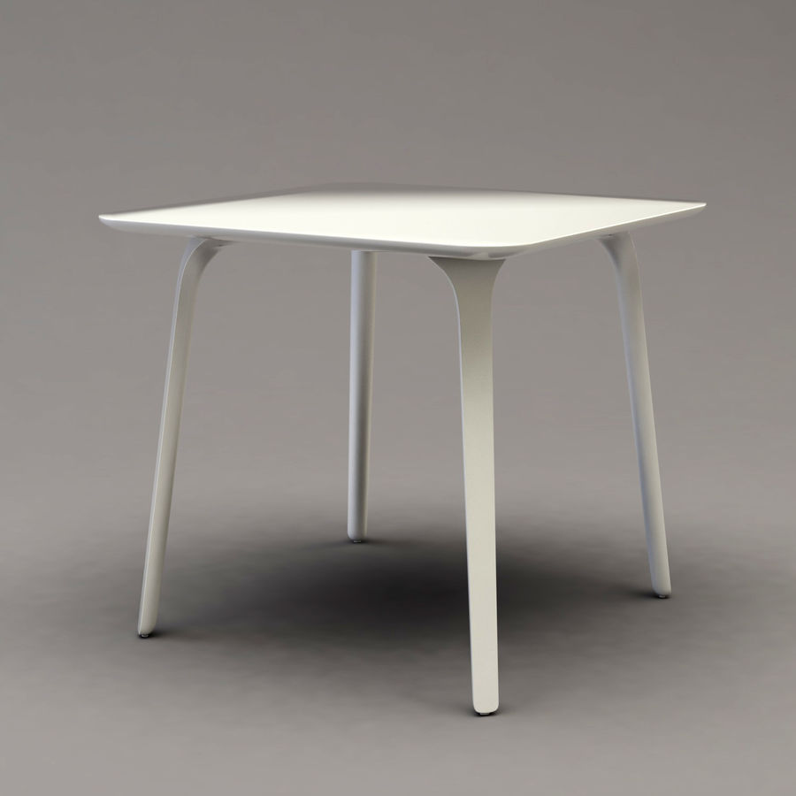 First table royalty-free 3d model - Preview no. 2