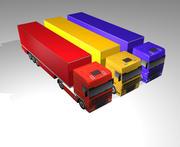 Cargo Truck 3d model