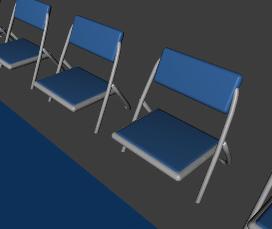 Basketball Court royalty-free 3d model - Preview no. 6
