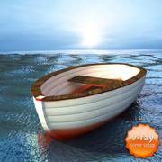 ボート 3d model