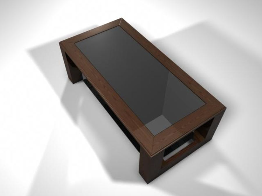 Mesa de salón royalty-free modelo 3d - Preview no. 3