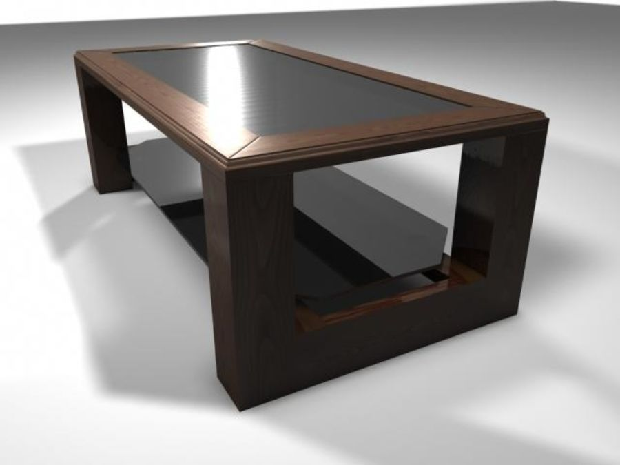 Mesa de salón royalty-free modelo 3d - Preview no. 1